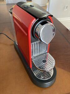 Nespresso Citiz Machine C111 Red