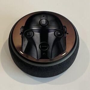 Mandalorian Star Wars Sticker Amazon Alexa Echo Dot 3 Speaker Logo Vinyl Skin x2