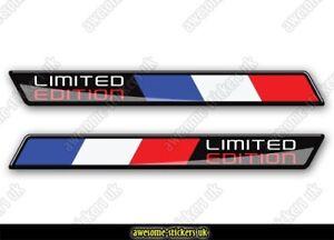 2 x FRENCH flag stickers 009 Renault Citroen Peugeot cars decals vinyl van