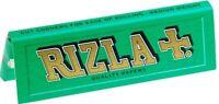 Original Rizla Verde Estándar/Tamaño Regular Papel de Liar 50 Librillos