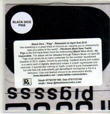 (CS863) Black Dice, Pigs - 2012 DJ CD