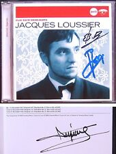 Jacques LOUSSIER Signed BACH Toccata Fugue Preludes Aria Passacaglia Fantasia CD
