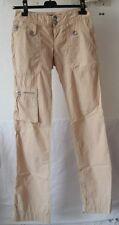 Original pantalon baggy MISS SIXTY  beige taille 24  US 34 FR  neuf