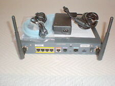 Cisco 876W-G-E-K9 Wireless ADSL over ISDN -Router