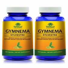 100% Natural Gymnema Sylvestre Leaf Control Sugar Glucose Metabolism Capsules