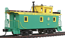 WALTHERS PLATINUM LINE DMIR G2 WOOD CABOOSE D&NE #07 FREE SHIPPING
