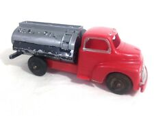 Vintage 1950's Hubley Kiddie Toy Plastic Gas-Oil Tank Delivery Truck # A34