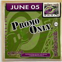 PROMO ONLY Modern Rock Radio Rare CD - (June 2005) Mars Volta, Audioslave 22-20s