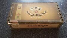 xhx   LEER ! Stände-Wappen Zigarrenkiste, LEER !!!, vintage