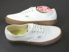 Vans Authentic Womens Classic Gum Marshmallow canvas Skate shoes Size 8 NWT