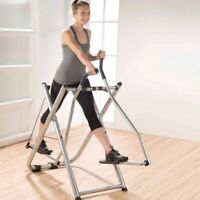 Cross Trainer Air Walker Glider Home Gym Fitness Workout Machine Foldable US