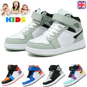Kids Boys Girls Trainers Children Comfort Sports Fashion Size Running Gym Shoes