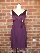 NEW HENRY ROTH NEW YORK DESIGNER DRESS SHAWL GRAPE LILIAN EVENING OCCASION  10