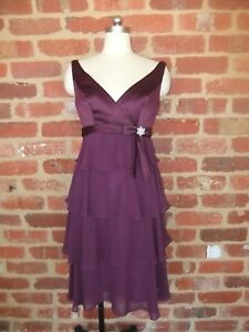NEW HENRY ROTH NEW YORK DESIGNER DRESS SHAWL GRAPE LILIAN EVENING OCCASION  10