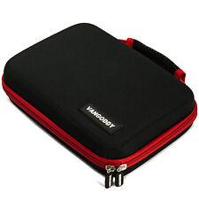 "VanGoddy Red Compact Cube Handle Tablet Bag For Ipad Mini 4 Ipad & Mini 3 7.9"""