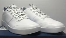 K-Swiss Mens Size 9.5 Aero Trainer White Black Athletic Casual Sneakers Shoes