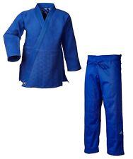 "adidas Judo-Anzug ""Millenium"" blau/silbernes Logo - J990B - Judo-Anzug - Judo-Gi"