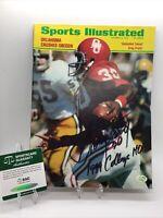 Greg Pruitt Signed Autographed Sports Illustrated Oklahoma Sooners  SGC COA