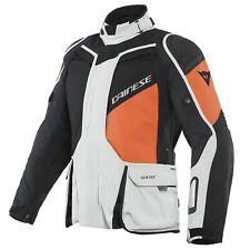 Dainese D-Explorer 2 GTX Jacket GRAY/ORANGE/BL 50 Touring Motorrad-Jacke NEU++