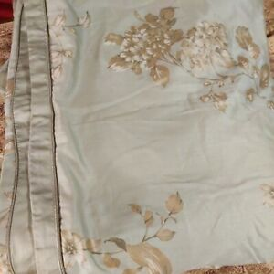 Charisma Floriane Pacific Green King Duvet new with defects