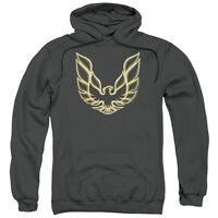 PONTIAC ICONIC FIREBIRD Adult Licensed Pullover Hooded Sweatshirt Hoodie SM-3XL