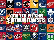 16/17 2016/17 O-Pee-Chee Platinum Team Set 7 Cards Pittsburgh Penguins W/RC