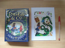 Anna James Tilly & The Lost Fairy Tales Signed Numbered 1st Pages & Co 2 + print