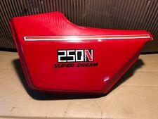 HONDA  CB250  CB 250  CB250N  SUPER DREAM  LEFT SIDE PANEL  UNDER SEAT PANEL