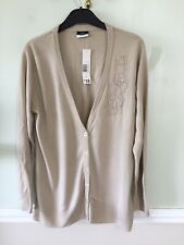 Embroidered Neutral Cardigan 14