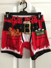 Joe Boxer MEN'S BOXER'S BOXER HOLIDAY BNWTS GINGERBREAD MEN SMALL