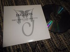 MICHAEL JACKSON THEY DON'T CARE ABOUT US (RADIO) CD SINGLE 1995 PROMO XPCD 2025