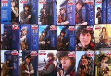 Dr Who Greeting Card Tom Baker Denis Alan Print RARE CompxSet /18 Pre TOPPS
