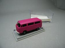 Brekina Volkswagen VW T2 Kasten Modell Fahrzeig Leserwahl pink sehr selten!