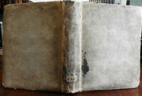 18th Century Latin Religious Work 1741 JC Wolf Hamburg original pasteboard book