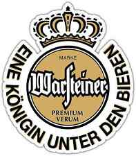"Warsteiner Beer Alcohol Car Bumper Window Locker Sticker Decal 4""X5"""