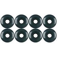 Roller Skate Quad Wheels Set of 8 62mm x 32mm Navy 95a