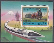 Fujeira 1971 Bl.47 A fine used c.t.o. Eisenbahn Railway Locomotive Lokomotive