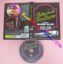 DVD film PALLOTTOLE SU BROADWAY 2012 Woody Allen WARNER 50001606480 no vhs (D7)