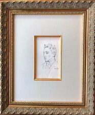 Pablo Picasso - Portrait de Raymond Radiguet - Original Lithograph - 1925