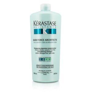 NEW Kerastase Resistance Bain Force Architecte Strengthening Shampoo (For 1000ml