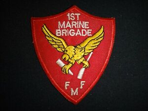 USMC 1st Marine BRIGADE Fleet Marine Force (FMF) Patch