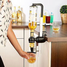 Single Optic Rotary 1 Shot Alcohol Dispenser Wine Beverage Bar Butler