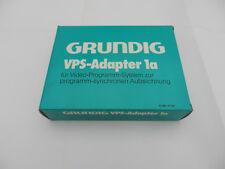 VPS Adapter 1a für GRUNDIG Video Geräte - Rarität für Sammler