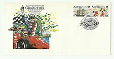 Australia 1986 Grand Prix Formula One 4 x Different Special Cancels