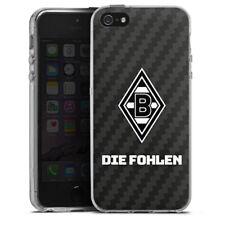 Apple iPhone 5 Silikon Hülle Case Handyhülle Borussia Mönchengladbach Carbon
