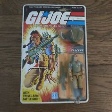 Vintage G.I. Joe 1984 Tracker (Spirit)  Series 3  -  32 Back Peach File Card