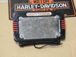 Harley-Davidson OEM License Plate Frame Sportster Dyna