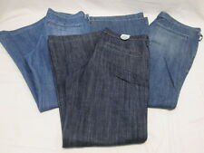 Old Navy 12 Regular Ladies Jeans Boot Cut 1 New 2 Pre-owned Light & Dark Wash