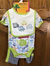 Chicka Chicka Boom Boom 4 Piece Set Boys Infant Bodysuit Pants Bib Socks