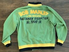 Bob Marley & The Wailers ~ Rastaman Vibration Tour Jacket ~ Catch a Fire ~ SMALL